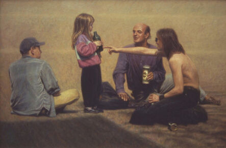 Davis Morton, 'Pompidou Afternoon', 1995