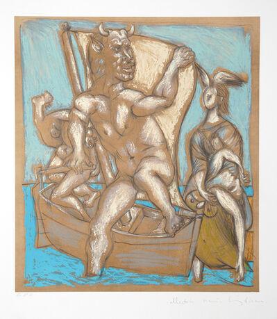 Pablo Picasso, 'Femme et Minotaure, 1937', 1979-1982