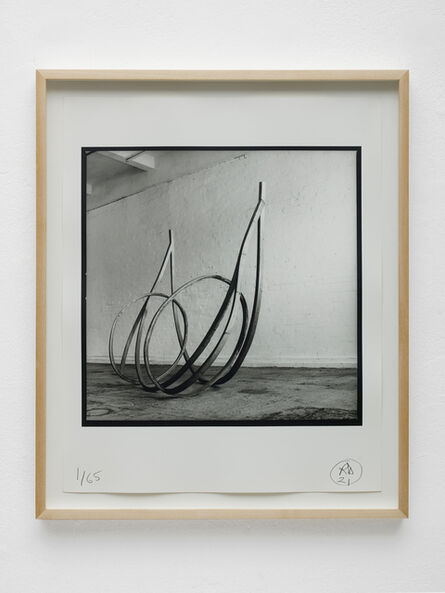 Richard Deacon, 'Untitled 1981 photographed by David Ward (Chisenhale Gallery 29 July 1986)', 2021