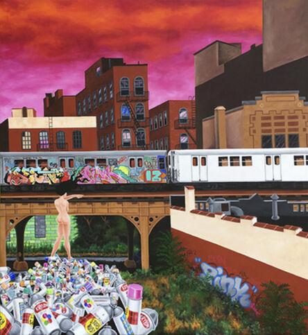 Lady Pink, 'Death of Graffiti 3', 2018