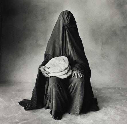 Irving Penn, 'Woman with three loaves, Morocco (B)', 1971