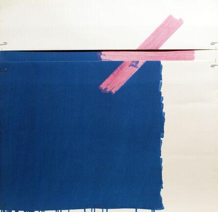 Richard Smith (1931-2016), 'Chocolate Box II (blue)', 1977