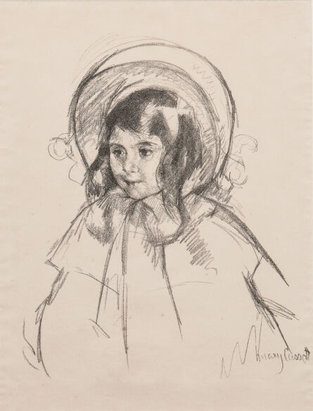 Mary Cassatt, 'Sara Wearing her Bonnet and Coat', c. 1904