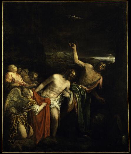 Jacopo Bassano, 'The Baptism of Christ', 1590