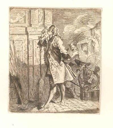 Leopold Flameng, 'Lafont de St. Yenne', 1859