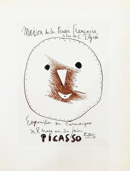 Pablo Picasso, 'Céramiques (face)', 1959