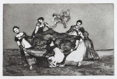 Francisco de Goya, 'Pesa Mas Que Un Burro Muerto', ca. 1816