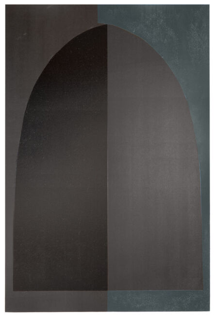 Aschely Cone, 'Blue/Black Arch Doublet', 2021
