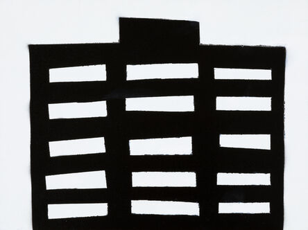William Carroll, 'NIGHT BUILDING 12', 2018