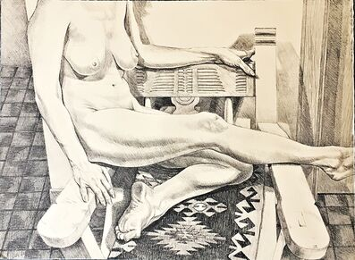 Philip Pearlstein, 'New Mexico Nude ', 1984