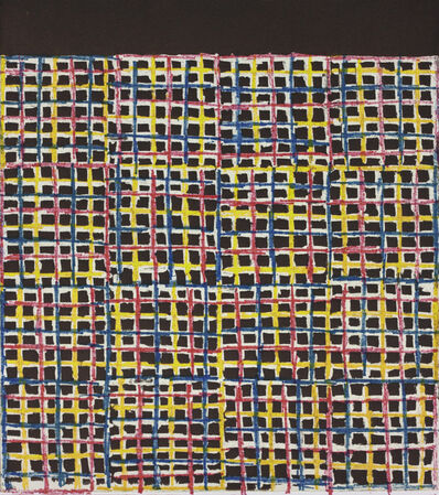 McArthur Binion, 'Primary Etching ', 2017