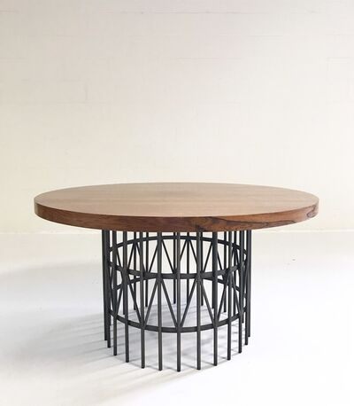 Milo Baughman, 'Rosewood and Brass Coffee Table', ca. 1965