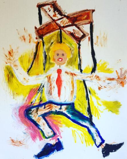 Luc Waring, 'Trump', 2016