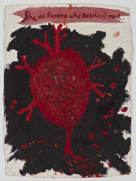Raymond Pettibon, 'No Title (She is the)', 2009