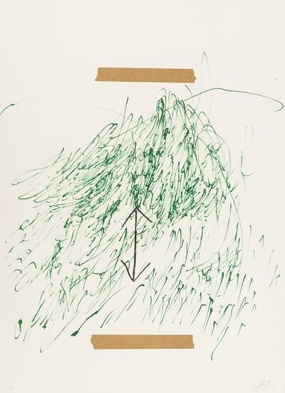 Antoni Tàpies, 'Poems from the Catalan II', 1973