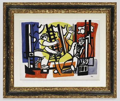Fernand Léger, 'Study for builders', ca. 1950