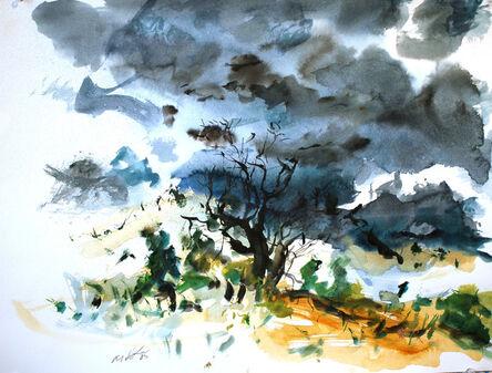 Raoul Middleman, 'High Desert Storm', 2005