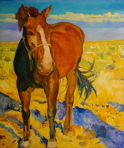 Wang Dalin, 'Brown Horse II', 2012