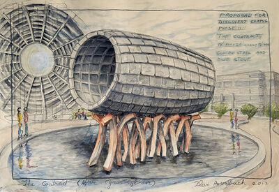 Ilan Averbuch, 'The Contract (After Cyrus Cylinder) ', 2017