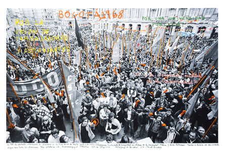 Marcelo Brodsky, 'From the series 1968: The fire of Ideas, Bogotá, 1968', 2014-2019