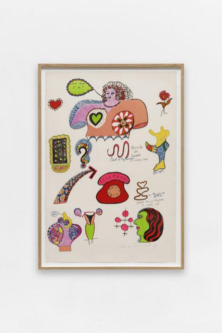 Niki de Saint Phalle, 'Telephone', ca. 1968