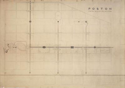 Isamu Noguchi, 'Poston Park and Recreation Areas at Poston, Arizona', 1942