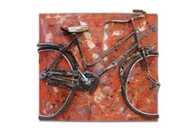 Erika Calesini, 'Orange Bike'