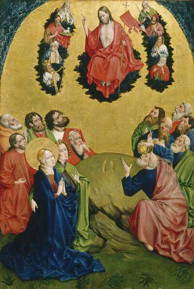 Johann Koerbecke, 'The Ascension', 1456/1457