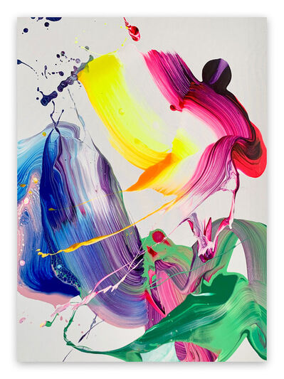 Nikolaos Schizas, 'Fluor Love (Abstract Painting)', 2021