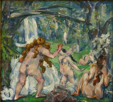 Paul Cézanne, 'Three Bathers', c. 1875