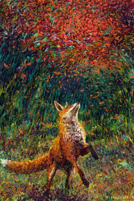 Iris Scott, 'Foxfire (Embellished Artist's Proof)', 2018
