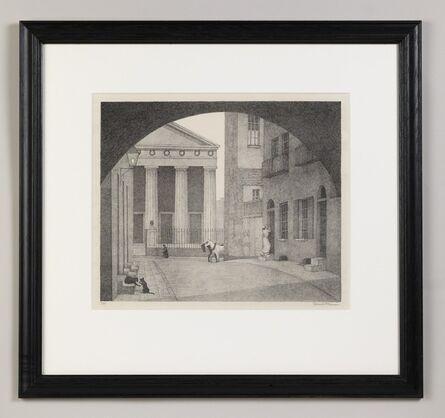 Robert Bevan, 'A London Church', 1924