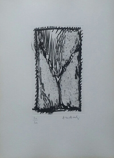 Pierre Alechinsky, 'These dresses that reminded me of Venice, 1988 - Signed etching', 1988