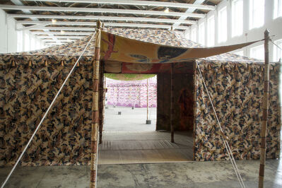 Francesco Clemente, 'Standing With Truth Tent', 2014