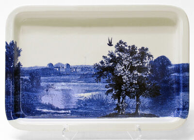 Paul Scott, 'Cumbrian Blue(s), American Scenery, Hudson River, Indian Point No. 2A', 2014