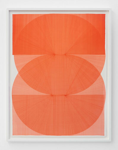 Thomas Trum, 'Two Red Lines 10', 2020