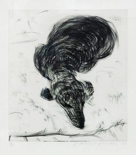 David Hockney, 'Dog Wall Number 7', 1998