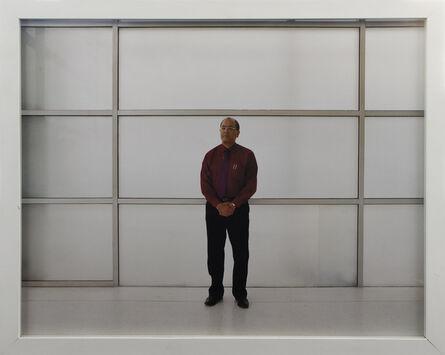 Bharat Sikka, 'Untitled IV (Executive man with grid)', 2001