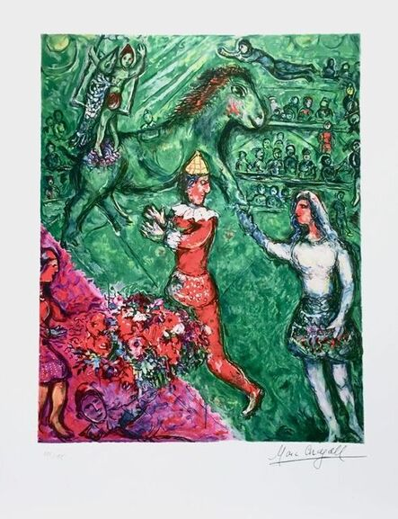 Marc Chagall, 'Le Cirque Vert', ca. 2000