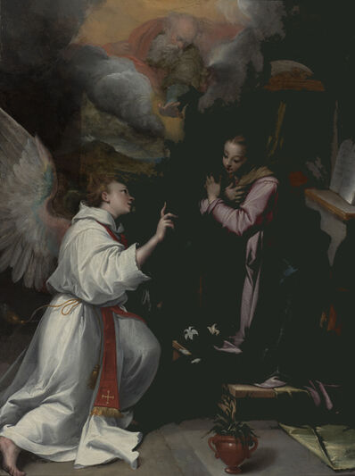 Denys Calvaert, 'Annunciation', ca. 1595