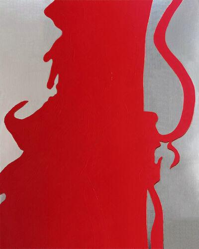 Gary Hume, 'PINK RED SMOKE', 2005