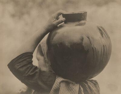 Tina Modotti, 'Woman Carrying Olla', 1926