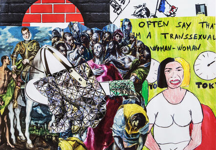 Erró, 'Hommage au Greco', 2019
