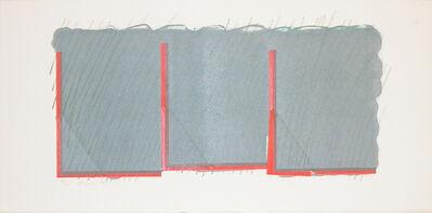 Richard Smith (1931-2016), 'Horizon II (grey and orange) ', 1970