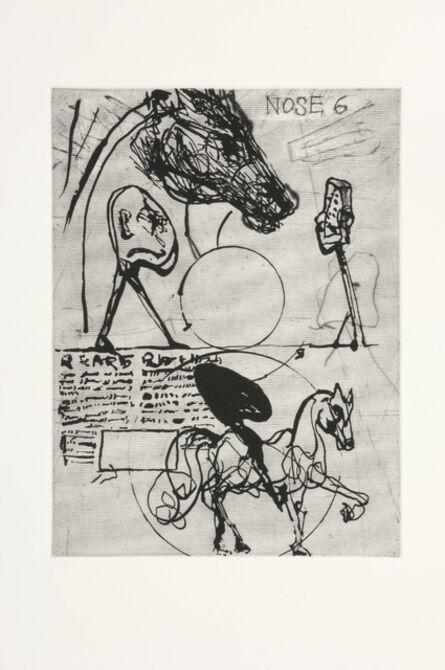 William Kentridge, 'Nose 6', 2008
