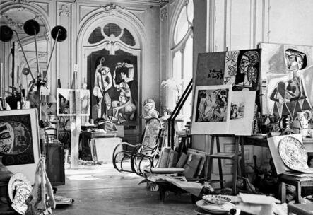 André Villers, 'Atelier Picasso, Villa La Californie, Cannes', ca. 1955