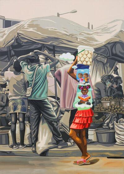 William Tagne Njepe Twilliam, 'Enfance Volée 1993 A 32', 2020