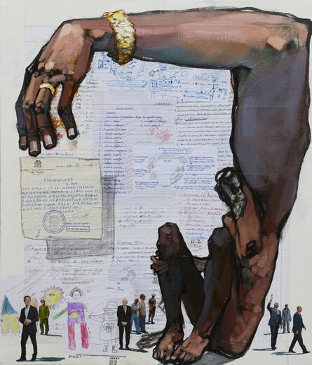 Dawit Abebe, 'Long Hands 12', 2020