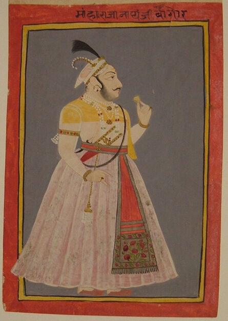 'Portrait of Maharaja Nathji ', 1874