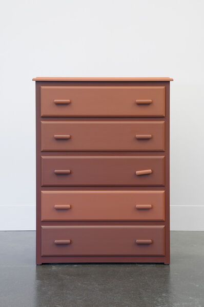Roy McMakin, 'The Chest of Drawers behind James Jamesson and Jimmy Fanz in Raging Stallion Studios' Timberwolves', 2014